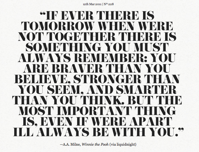 You Must Always Remember… | nomeatbarefeet