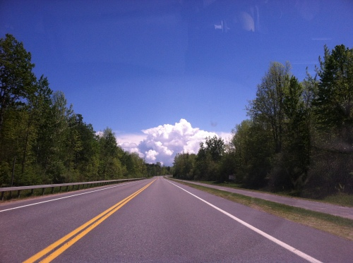 View from the drive home.